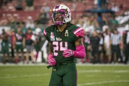 23 - UConn vs USF 2016 - USF DB Johnny Ward (5207x3476)