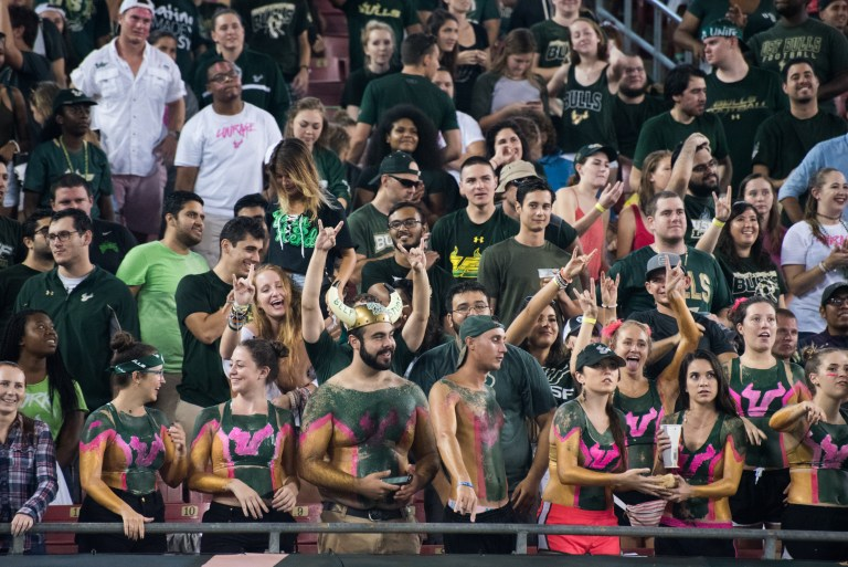 30 - UConn vs USF 2016 - USF Student Section (6016x4016)