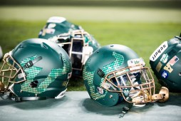 37 - Navy vs. USF 2016 - New 2016 USF Helmets for No. 22 Navy by Dennis Akers | SoFloBulls.com (6016x4016)