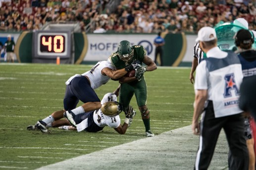 51 - Navy vs. USF 2016 - USF WR Tyre McCants by Dennis Akers | SoFloBulls.com (3936x2624)