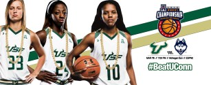 2015-2016 AAC Championship South Florida Women's Basketball Facebook Cover Photo by Matthew Manuri (3568x1462)