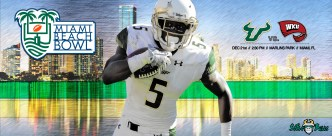 2015 Miami Beach Bowl The Battle of the Beach Facebook Cover Image by Matthew Manuri (3568x1462)