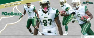 2015 USF Football White Out Helmets Facebook Cover Image by Matthew Manuri (3568x1462)