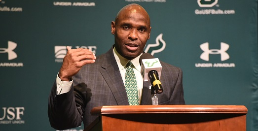 AUDIO-USF Head Coach Charlie Strong on Outkick the Coverage with Clay Travis | SoFloBulls.com [Photo by Dennis Akers]