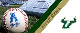 USF Baseball #RoadToOmaha Facebook Cover Photo by Matthew Manuri (3568x1462)