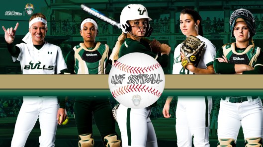 2017 USF Bulls Softball Background Imgage Wallpaper Donovan Weber Fung Atkinson Wyckoff | SoFloBulls.com (3860x2160)