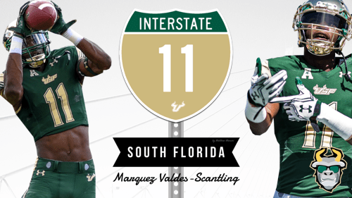 🎥 SoFloBulls.com 2016 USF Football Highlights Series Teaser: #Interstate11 WR Marquez Valdes-Scantling by Matthew Manuri | SoFloBulls.com
