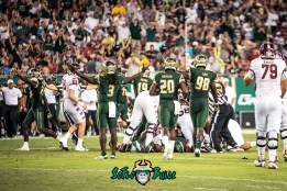 106 - Temple vs. USF 2017 - USF S Devin Abraham Mike Love Deatrick Nichols by Dennis Akers | SoFloBulls.com (4145x2767)
