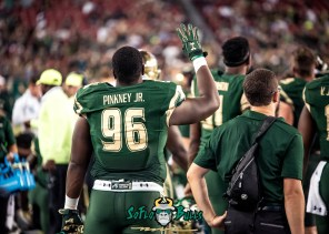 142 - Temple vs. USF 2017 - USF DT Kelvin Pinkney by Dennis Akers | SoFloBulls.com (5533x3952)