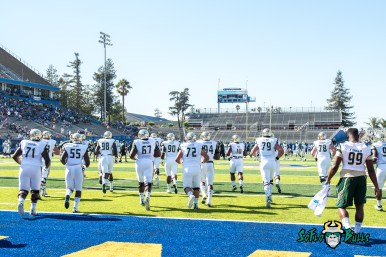 27 - USF vs. San Jose State 2017 - USF Team Running Out on Field by Dennis Akers | SoFloBulls.com (4633x3093)
