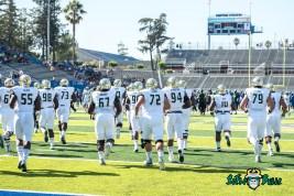28 - USF vs. San Jose State 2017 - USF OL Hal Roberson Brooks Larkin Kirk Livingstone by Dennis Akers | SoFloBulls.com (4970x3318)
