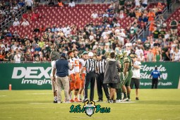 35 - Illinois vs. USF 2017 - USF Illinois Coin Toss by Dennis Akers | SoFloBulls.com (3454x2306)