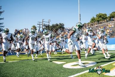 41 - USF vs. San Jose State 2017 - USF S Tajee Fullwood Nate Ferguson Mitchell Wilcox by Dennis Akers | SoFloBulls.com (4584x3060)