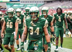 5 - Illinois vs. USF 2017 - USF LB Keirston Johnson by Dennis Akers | SoFloBulls.com (5377x3841)