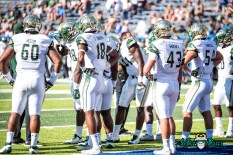 52 - USF vs. San Jose State 2017 - USF DT Bruce Hector Jaymon Thomas Auggie Sanchez Nico Sawtelle by Dennis Akers | SoFloBulls.com (6016x4016)