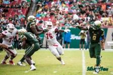 55 - Stony Brook vs. USF 2017 - USF QB Quinton Flowers by Dennis Akers | SoFloBulls.com (5191x3465)