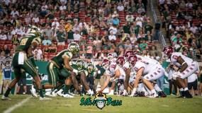 62 - Temple vs. USF 2017 - USF DL vs. Temple OL by Dennis Akers | SoFloBulls.com (5609x3155)