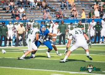 73 - USF vs. San Jose State 2017 - USF LB Nico Sawtelle Auggie Sanchez by Dennis Akers | SoFloBulls.com (3834x2739)