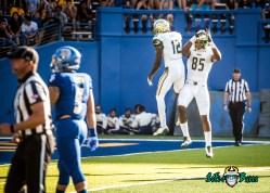92 - USF vs. San Jose State 2017 - USF WR Temi Alaka Kano Dillon by Dennis Akers | SoFloBulls.com (4081x2915)