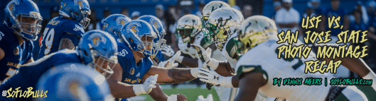 USF vs. San Jose State 2017 Photo Montage ReCap by Dennis Akers | SoFloBulls.com