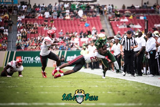 18 - USF vs. Houston 2017 - USF WR Temi Alaka by Dennis Akers | SoFloBulls.com (5267x3516)