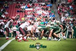 30 - USF vs. Houston 2017 - USF OL vs. Houston DL by Dennis Akers | SoFloBulls.com (6016x4016)