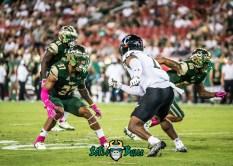 71 - Cincinnati vs. USF 2017 - USF DB Nate Ferguson by Dennis Akers | SoFloBulls.com (4570x3264)