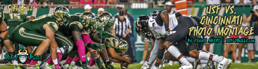 Cincinnati vs. USF 2017 Photo Montage ReCap by Dennis Akers Article Header Image | SoFloBulls.com (1920x520)