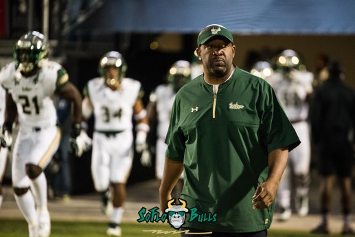 41 - USF vs. UCF 2017 - USF Assistant Coach - Running Backs Shaun King by Dennis Akers | SoFloBulls.com (5327x3556)