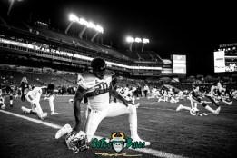 43 - Tulsa vs. USF 2017 - USF S Devin Abraham B and W by Dennis Akers | SoFloBulls.com (5913x3947)