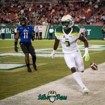 92 - Tulsa vs. USF 2017 - USF WR Darnell Salomon 35 Yard TD by Dennis Akers | SoFloBulls.com (3239x3239)
