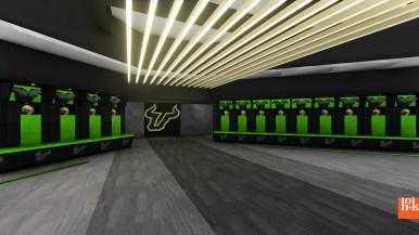 USF Football Center Rendering Locker Room Image - SoFloBulls.com (3840x2160)