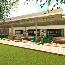 USF Football Center Rendering Players Lounge Patio Image - SoFloBulls.com (3840x2160)