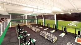 USF Football Center Rendering Weight Room Image - SoFloBulls.com (3840x2160)