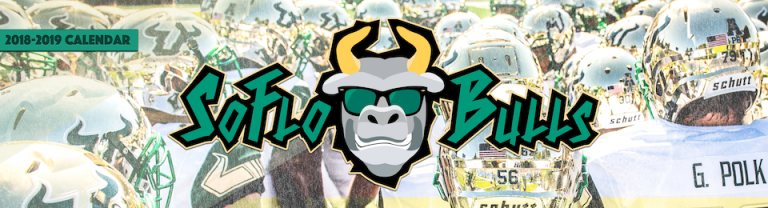 📅 For Sale: 2018-2019 SoFloBulls USF Football Calendar Cover Article Featured Image by Matthew Manuri III (960x260)