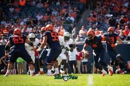 16 - USF vs. Illinois 2018 - USF DE Kirk Livingstone Greg Reaves by Dennis Akers | SoFloBulls.com (4284x2860)