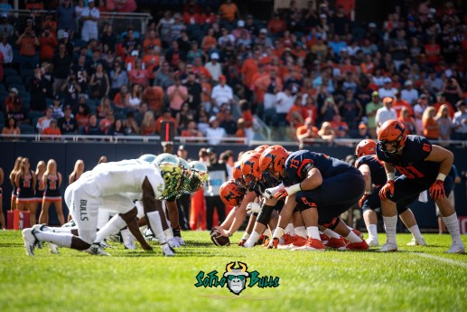 27 - USF vs. Illinois 2018 - USF Special Teams vs. Illinois Special Team by Dennis Akers | SoFloBulls.com (5472x3653)