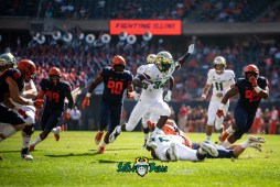 34 - USF vs. Illinois 2018 - USF WR Randall St. Felix by Dennis Akers | SoFloBulls.com (4768x3183)