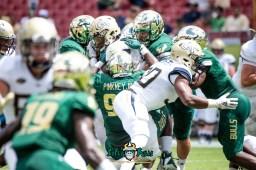 35 - Georgia Tech vs. USF 2018 - USF DT Kelvin Pinkney by Dennis Akers | SoFloBulls.com (5030x3358)