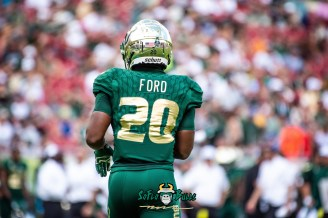 49 - Georgia Tech vs. USF 2018 - USF RB Johnny Ford by Dennis Akers | SoFloBulls.com (6016x4016)