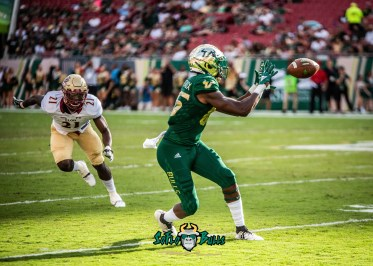 65 - Elon vs. USF 2018 - USF WR Stanley Clerveaux by Dennis Akers | SoFloBulls.com (4985x3561)