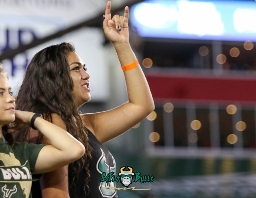 107 - USF vs. UConn 2018 - USF Students in Crowd by Will Turner | SoFloBulls.com (4190x3247) - 0H8A8747