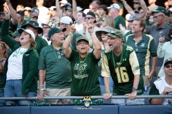118 - USF vs. Illinois 2018 - USF Fans in crowd at Soldier Field by Dennis Akers | SoFloBulls.com (6016x4016)