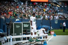 143 - USF vs. Illinois 2018 - USF S Keyon Helton by Dennis Akers | SoFloBulls.com (6016x4016)