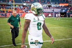 157 - USF vs. Illinois 2018 - USF WR Tyre McCants by Dennis Akers | SoFloBulls.com (5144x3434)