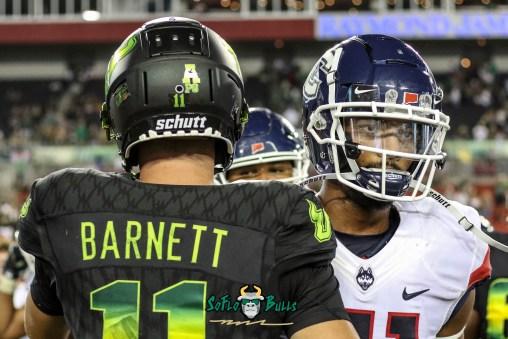 173 - USF vs. UConn 2018 - USF QB Blake Barnett by Will Turner | SoFloBulls.com (4470x2991) - 0H8A9244