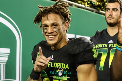 178 - USF vs. UConn 2018 - USF DB Nick Roberts by Will Turner | SoFloBulls.com (4827x3203) - 0H8A9271