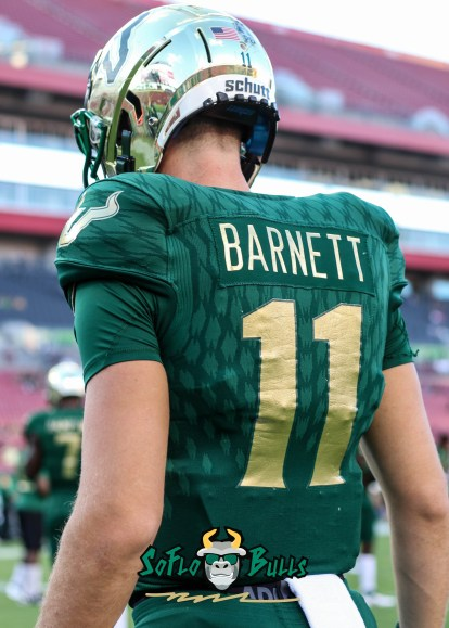 25 - USF vs. UConn 2018 - USF QB Blake Barnett by Will Turner   SoFloBulls.com (3412x4780) - 0H8A8256