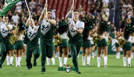 41A - USF vs. ECU 2018 - USF Coed Cheerleader Dalton Shepherd by Will Turner | SoFloBulls.com (4726x2734)