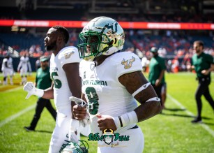 47 - USF vs. Illinois 2018 - USF WR Tyre McCants by Dennis Akers | SoFloBulls.com (5436x3883)